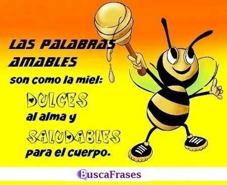 Frases sobre las palabras amables