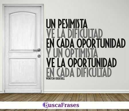 Frases sobre los optimistas