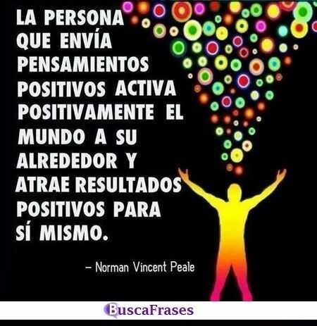 Frases sobre las personas que son positivas