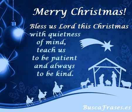 Mensaje de Navidad en inglés