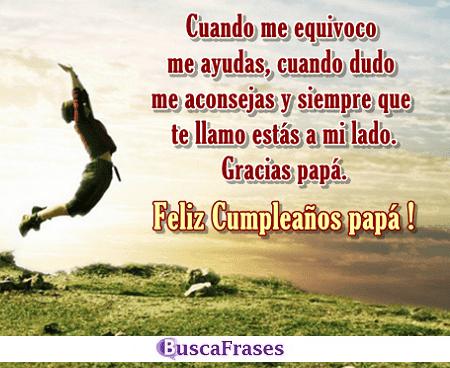 Frases De Cumpleaños Para Un Padre Buscafraseses