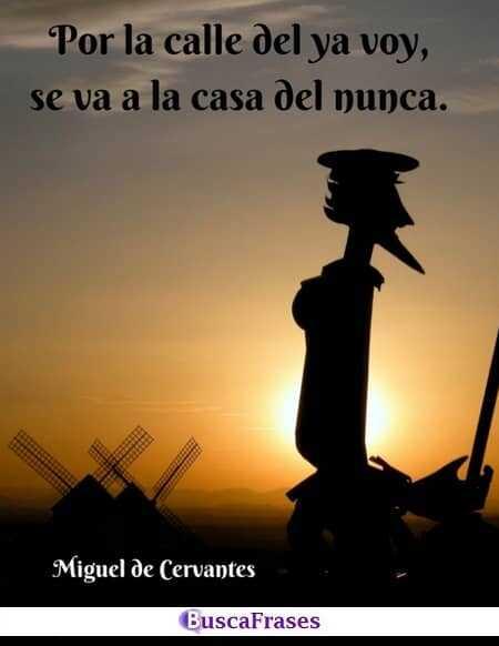 Pensamientos de don Miguel de Cervantes