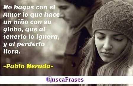 Pensamientos de Pablo Neruda