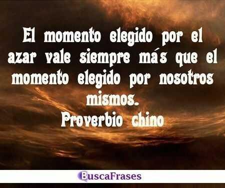 Proverbios chinos en español