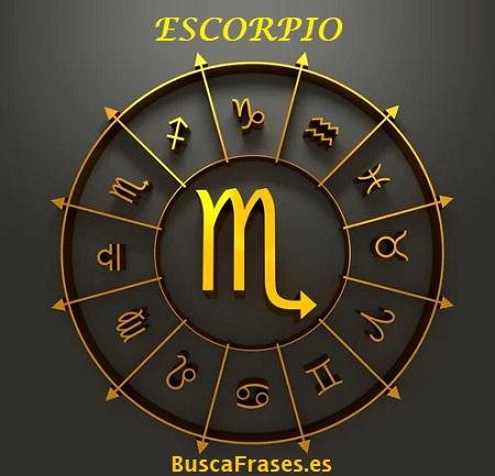Signo escorpio horóscopo