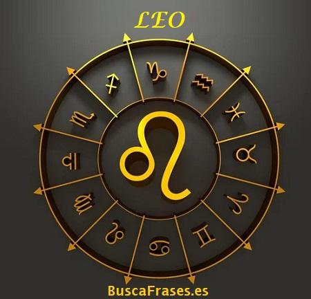 Signo leo horóscopo
